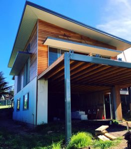 Eves and Awnings wall cladding