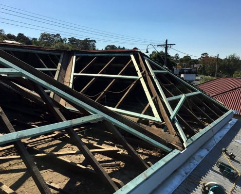 Re-roofing of heritage building